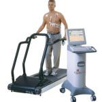 Profesjonalny zestaw do badań wysiłkowych EKG w Eskulap Premium firmy GE Healthcare.