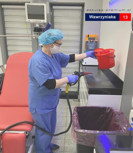 Eskulap Mosina gabinety dezynfekcja koronawirus