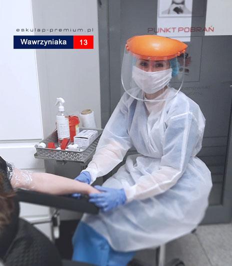 Punkt pobrań, laboratorium, Mosina, korownawirus, epidemia