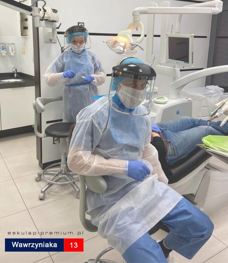 Stomatolog Dentysta Mosina koronawirus